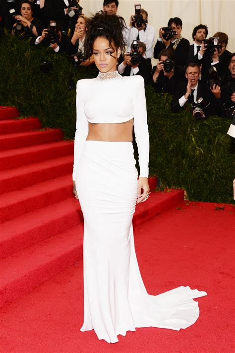 Rihanna's Top 10 Showstopper Red Carpet Fashion