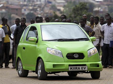Who Makes Electric Cars by Uganda S Electric Car Built By Makerere Students
