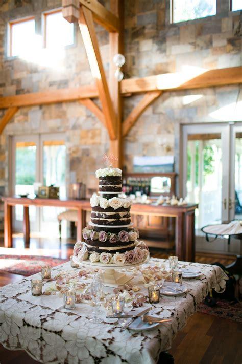 rustic glam wedding reception decor