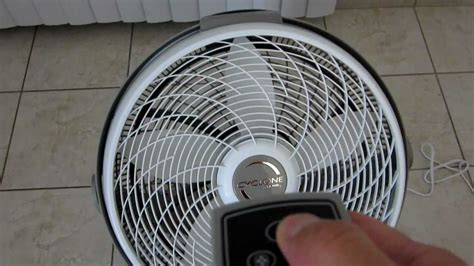 lasko fan 20 air circulator remote control youtube