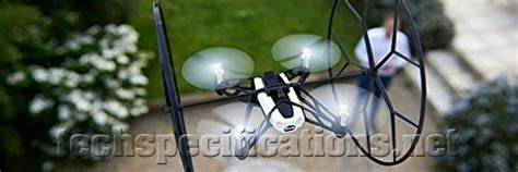parrot rolling spider drone technical specifications