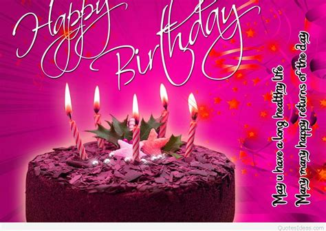 Wallpaper Of Happy Birthday by Happy Birthday Wallpapers Quotes And Sayings Cards