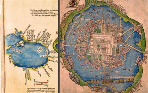 tenochtitlan capital   aztec empire  debris field