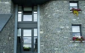 parements semi finis encadrement porte d39entree meule With encadrement porte d entree