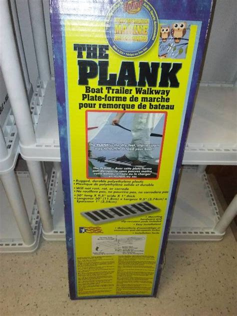 Boat Trailer Walkway by The Plank Boat Trailer Walkway Resold Celebrates 1