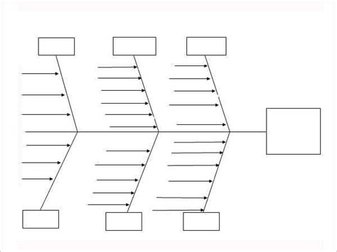 fishbone diagram templates word excel  formats