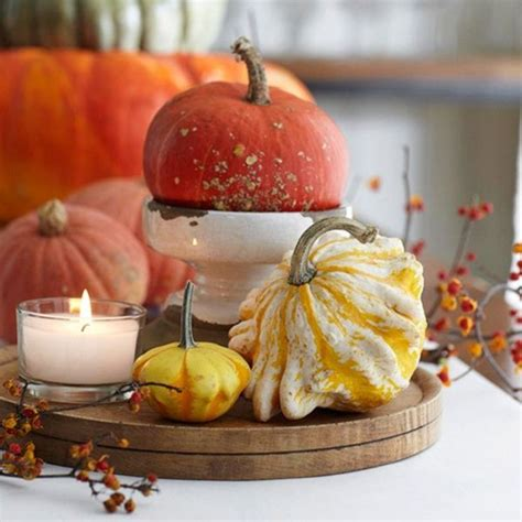 decorating gourds using gourds for a fall inspired dining table centerpiece