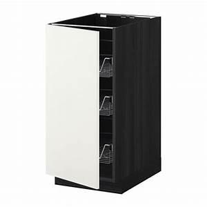 Ikea Metod Unterschrank : metod unterschrank mit drahtk rben ikea ~ Watch28wear.com Haus und Dekorationen