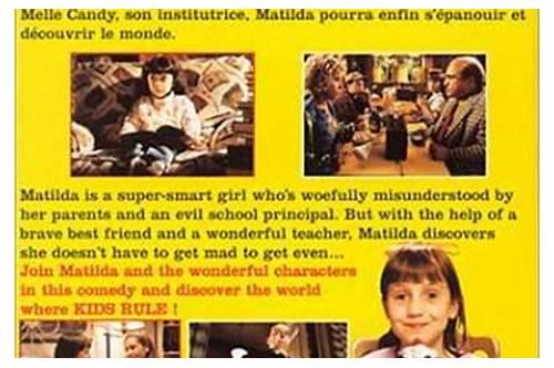 matilda full movie 1996 free