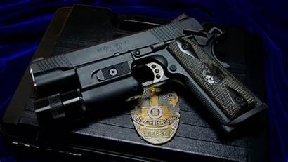 Police Gun Badge M1911 Springfield 1911 Weapon