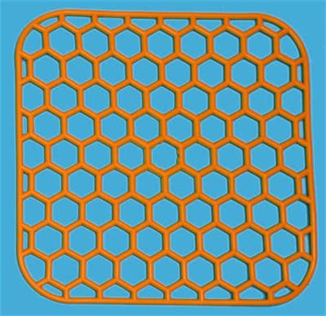 2 square sink mats 29x29 cm 10 colours dish sink drainer