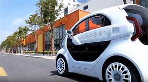 3D-Printed Electric Car Set for 2019 Market Release - The