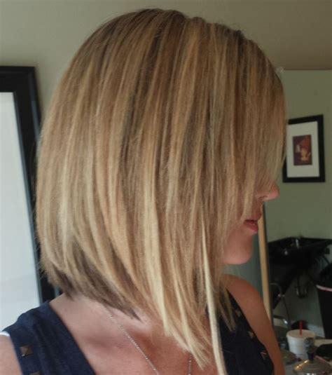 carre plongeant court long blond  coupes pour