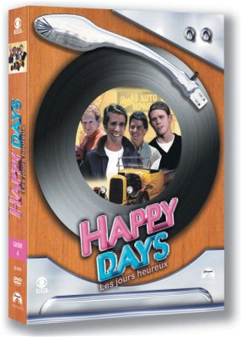 test dvd saison  happy days dvd series