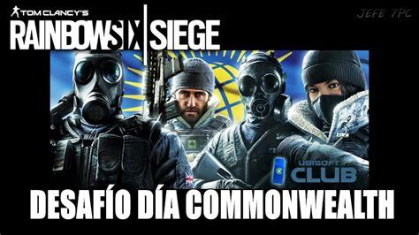 siege dia rainbow six siege desafío día commonwealth en directo