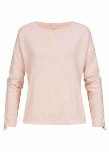77 Online Shop De : seventyseven lifestyle damen pullover sweater rosa melange 77onlineshop ~ Markanthonyermac.com Haus und Dekorationen