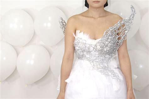 diy hunger katniss everdeen s wedding dress costume