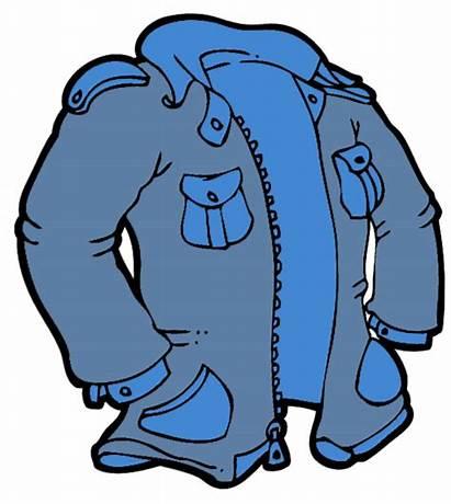 Jacket Clip Coat Clipart Winter Cliparts Coats