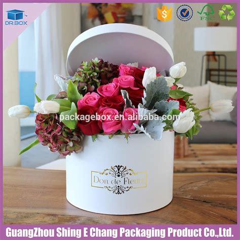 bloemen in box luxury flower paper boxes round gift flowers box with matt