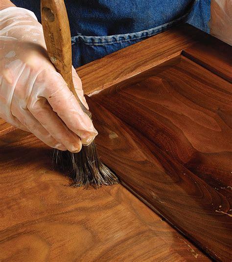 oil finish   wrong  walnut finewoodworking