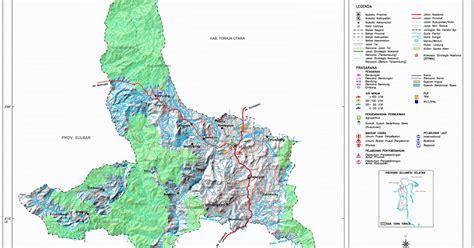 peta kota peta kabupaten tana toraja