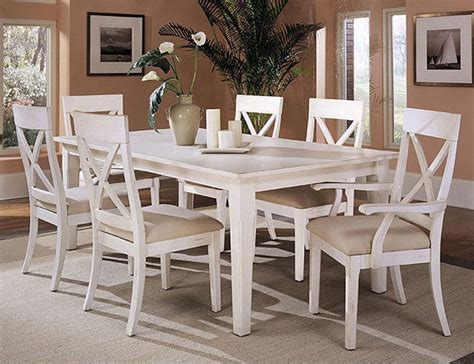 rustic white dining room table dining room tables