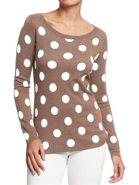 polka dot sweater polka dot sweater womens tops
