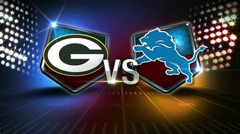 lions packers game  local    viewed highest