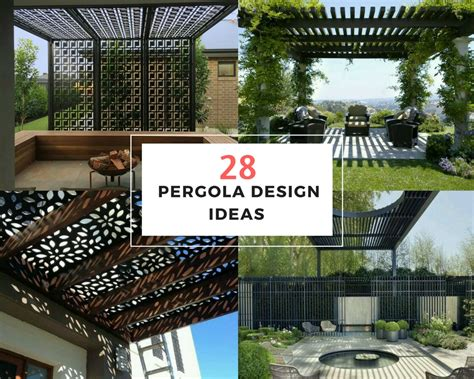 Kitchen Outdoor Ideas - 28 pergola design ideas the architects diary