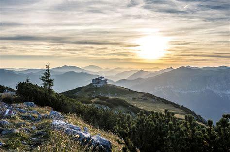 ausgezeichnete berghuetten bergsommer saisonale