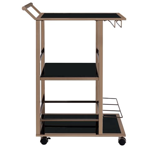 contemporary kitchen cart coaster kitchen carts 102995 contemporary serving cart 2470