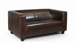 Sofa Kolonialstil Leder : b famous 2 sitzer sofa kuba 149 x 88 cm glanzleder braun ~ Indierocktalk.com Haus und Dekorationen