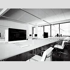 Picture Interior Modern Libraryworkspace Loft Panoramic