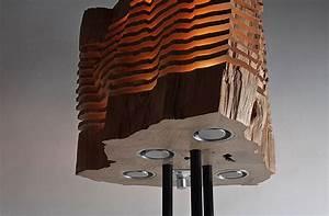 Lampen Aus Holz : upcycling designer lampen aus brennholz gebaut handarbeit und naturholz ~ Markanthonyermac.com Haus und Dekorationen