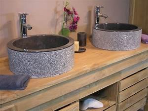 Vasque En Verre Salle De Bain : vasque verre castorama merveilleux vasque en marbre ~ Edinachiropracticcenter.com Idées de Décoration