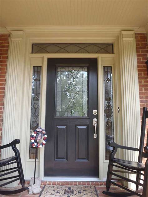 Exterior Door With Window by Windows And Doors Sidelites Transoms Millwork Units