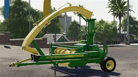 John Deere 3765 V1000 Fs19 Farming Simulator 19 Mod