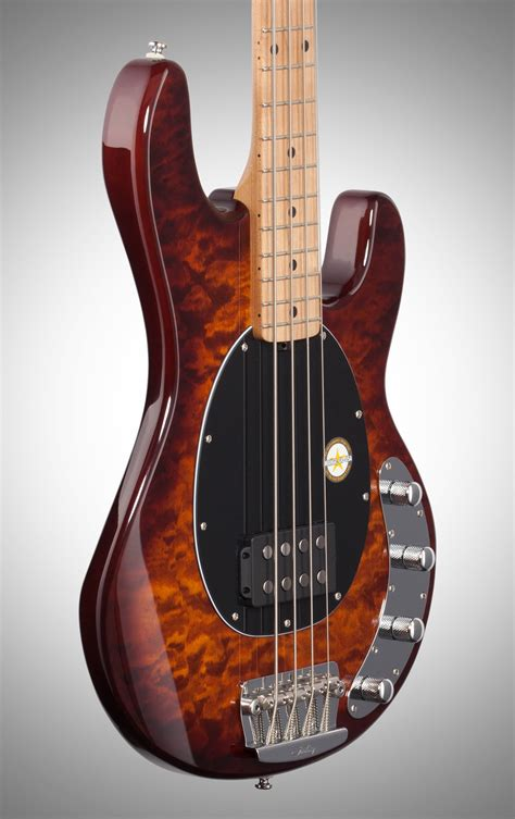 It provides access to a revolving line of. Sterling by Music Man Ray34QM Electric Bass Guitar, Island ...