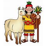 Llama Inca Clipart Clip Martin Civilization Transparent