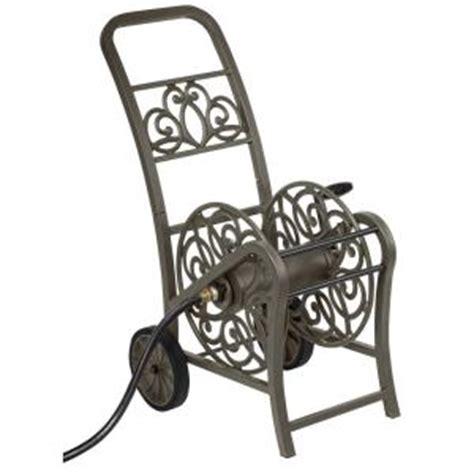 hampton bay  wheel hose reel cart mdhchb  home depot