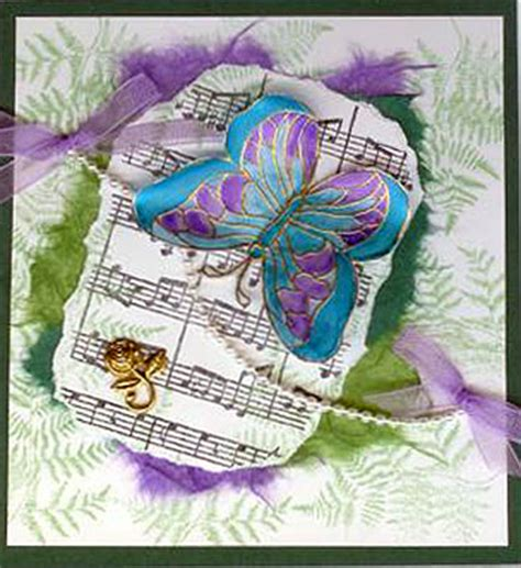 handmade butterfly cards  weekly card challenge