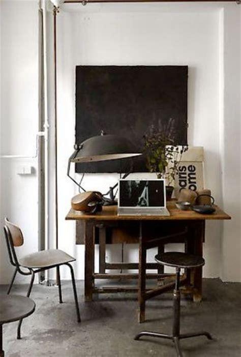 bureau style industriel décoration bureau style industriel