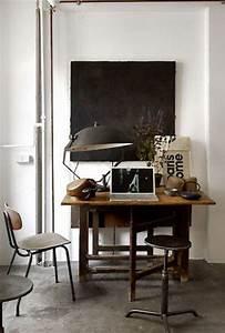 Objet Deco Style Industriel : d coration bureau style industriel ~ Melissatoandfro.com Idées de Décoration