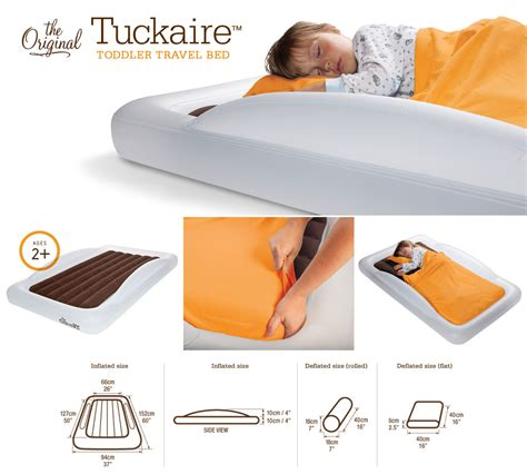 Shrunks Toddler Travel Bed by The Shrunks Tuckaire Indoor Toddler Travel Bed Urbanbaby