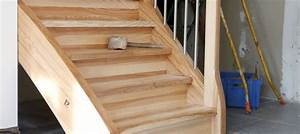 peindre escalier en bois exotique 20170928142542 tiawukcom With peindre escalier bois en blanc 8 realisations descalier en bois choisir son escalier sur