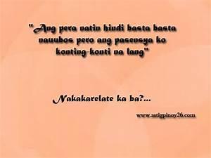 """""""Ang pera natin hindi basta basta nauubos pero ang ..."""