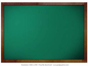 Green blank blackboard | PSDGraphics