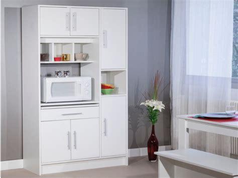 colonne de cuisine pour four et micro onde buffet de cuisine mady 5 portes 1 tiroir 2 coloris