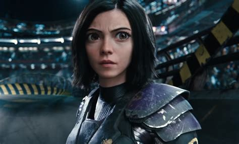 alita battle angel trailer features  action