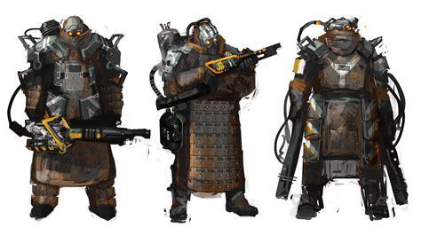 Atomhawk Design Concept Art World